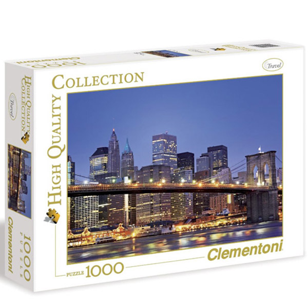 Clementoni Puzzla New York Brooklyn Bridge 1000 pcs 39199 - ODDO igračke