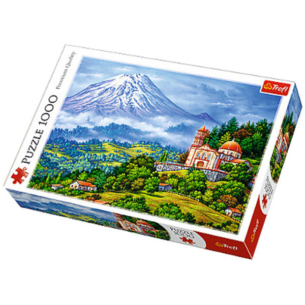 Trefl Puzzla Landscape with the volcano 1000pcs 10431 - ODDO igračke