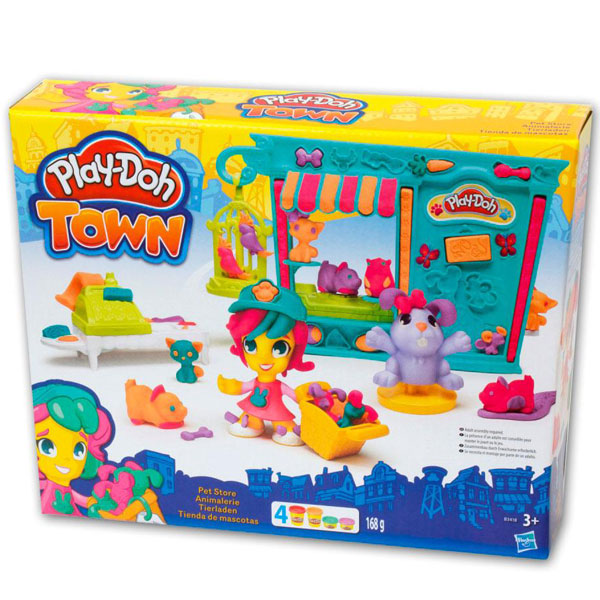 PLAY-DOH TOWN SET PET SHOP B3418         - ODDO igračke