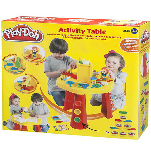Moj prvi Activity sto PlayDoh 35-485000 - ODDO igračke