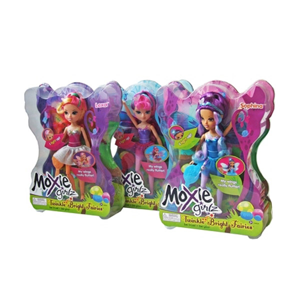 Moxie Girlz Twinkle Bright Fairies Lutka 112815                               - ODDO igračke