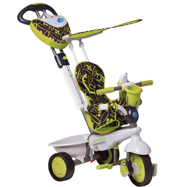 Tricikl Smart Trike Dream Team - Zeleni 1590800 - ODDO igračke