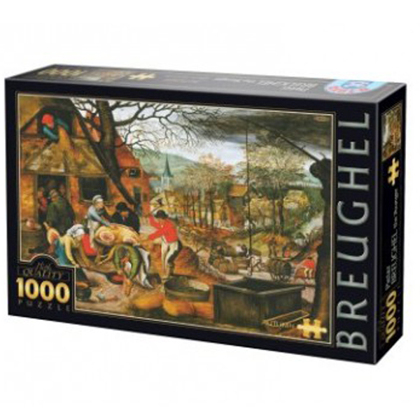 DToys puzzla Autumn, Breughel the Younger 1000 pcs - ODDO igračke