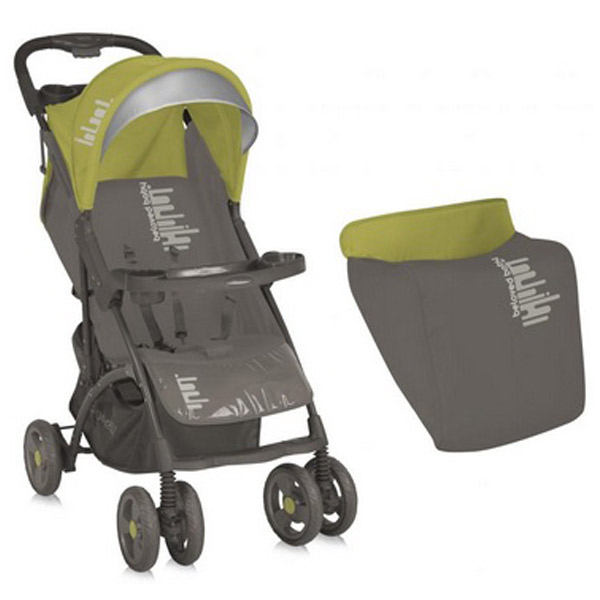 Bertoni Kolica Smarty - Beige & Green Beloved Baby 10020351436A - ODDO igračke
