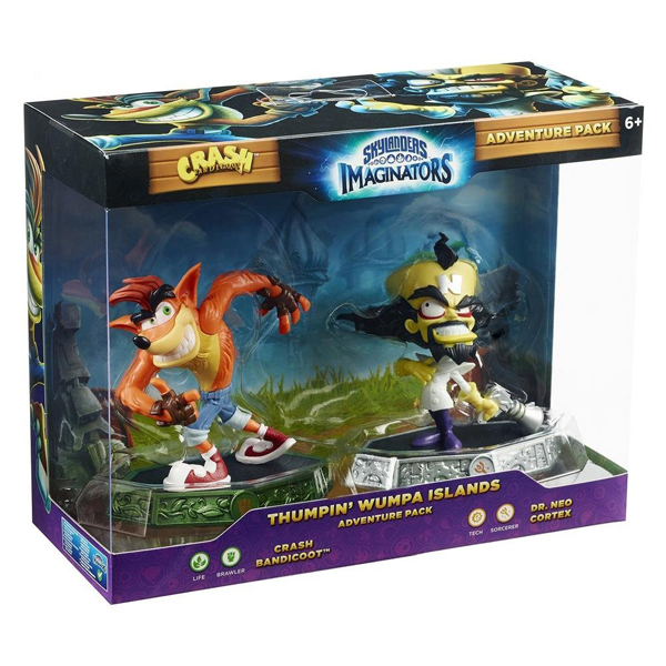 Skylanders Imaginators Adventure Pack Crash (Crash Bandicoot/Dr. Neo Cortex) 87925EU 026596 - ODDO igračke
